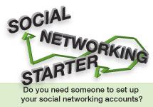 social networking starter